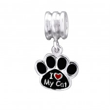 Paw - 925 Sterling Silver Beads without stones A4S29524