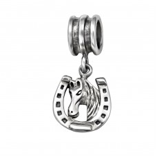 Horseshoe - 925 Sterling Silver Beads without stones A4S29546