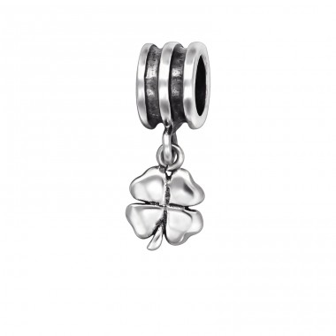 Shamrock - 925 Sterling Silver Beads without stones A4S29559