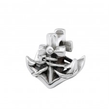 Anchor - 925 Sterling Silver Beads without stones A4S29563