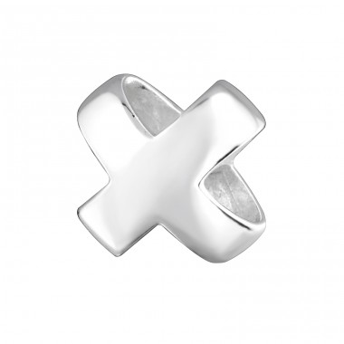 Cross - 925 Sterling Silver Beads without stones A4S3063