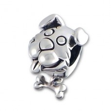 Dog - 925 Sterling Silver Beads without stones A4S3391