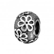 Flower - 925 Sterling Silver Beads without stones A4S35081