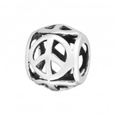 Round - 925 Sterling Silver Beads without stones A4S3787