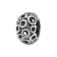 Bubble - 925 Sterling Silver Beads without stones A4S4150
