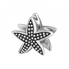Starfish - 925 Sterling Silver Beads without stones A4S4227