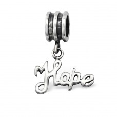 Hanging Hope - 925 Sterling Silver Beads without stones A4S5348