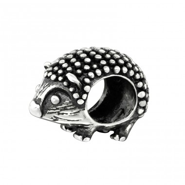 Hedgehog - 925 Sterling Silver Beads without stones A4S5443