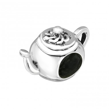 Teapot - 925 Sterling Silver Beads without stones A4S5731