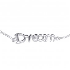 Dream - 925 Sterling Silver Bracelets with silver chain A4S16746