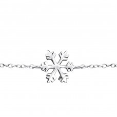 - 925 Sterling Silver Bracelets with silver chain A4S18537
