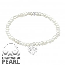 - 925 Sterling Silver Bracelets with silver chain A4S29437