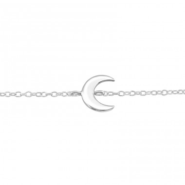 - 925 Sterling Silver Bracelets with silver chain A4S31532