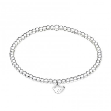 - 925 Sterling Silver Bracelets with silver chain A4S32447