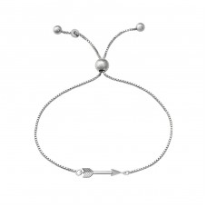 Arrow - 925 Sterling Silver Bracelets with silver chain A4S37472