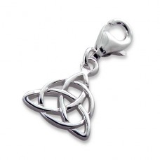 Triangle - 925 Sterling Silver Charms with lobster A4S2743