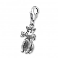 Dog - 925 Sterling Silver Charms with lobster A4S5527