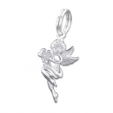 Cupid - 925 Sterling Silver Charms with split ring A4S28896