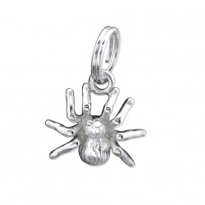 Spider - 925 Sterling Silver Charms with split ring A4S29990