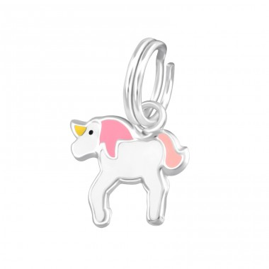 Unicorn - 925 Sterling Silver Charms with split ring A4S37556