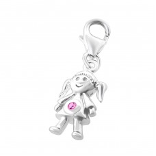 Kid - 925 Sterling Silver Charms with lobster A4S10022