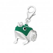 Frog - 925 Sterling Silver Charms with lobster A4S11833