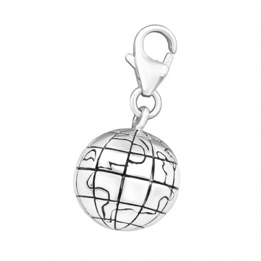 World - 925 Sterling Silver Charms with lobster A4S12142