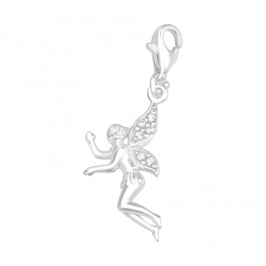 Fairy - 925 Sterling Silver Charms with lobster A4S14513