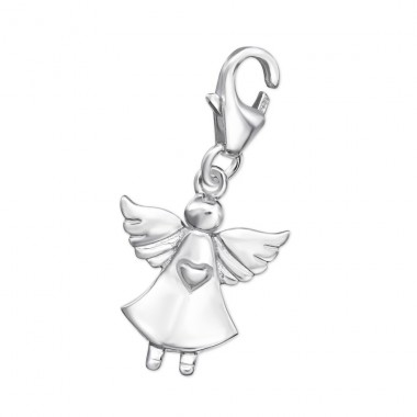Fairy - 925 Sterling Silver Charms with lobster A4S14517