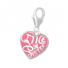 Heart - 925 Sterling Silver Charms with lobster A4S15033