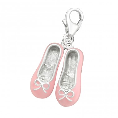 Shoe - 925 Sterling Silver Charms with lobster A4S19094