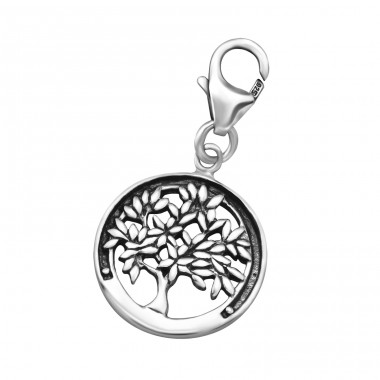Tree of life - 925 Sterling Silver Charms With Lobster A4S24578