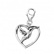 Bird - 925 Sterling Silver Charms with lobster A4S24585