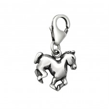 Horse - 925 Sterling Silver Charms with lobster A4S28882
