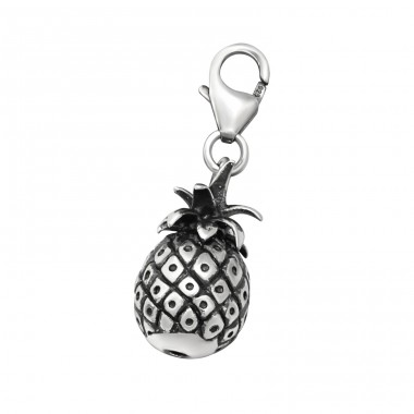 Pineapple - 925 Sterling Silver Charms with lobster A4S28887