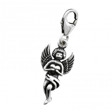 Fairy - 925 Sterling Silver Charms with lobster A4S28891