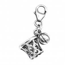 Basketball - 925 Sterling Silver Charms with lobster A4S29515