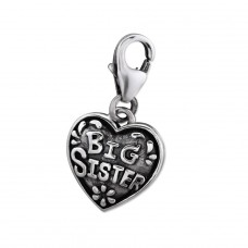 Big Sister - 925 Sterling Silver Charms with lobster A4S29520