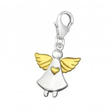 Angel - 925 Sterling Silver Charms with lobster A4S29869