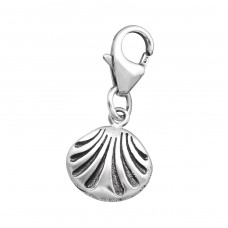 Shell - 925 Sterling Silver Charms with lobster A4S32108