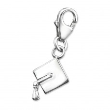 Graduation - 925 Sterling Silver Charms With Lobster A4S6781