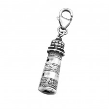 Lighthouse - 925 Sterling Silver Charms with lobster A4S7292