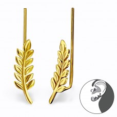 Branch - 925 Sterling Silver Ear Cuffs and Ear pins A4S28626