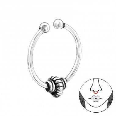 Bali - Striebro 925 Piercing do nosa A4S30956