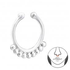 Bali - Striebro 925 Piercing do nosa A4S34650