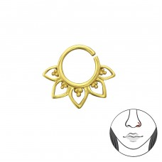 Bali - 925 Sterling Silver Nose Silver Piercing A4S35479