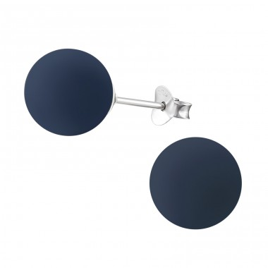 Round - 925 Sterling Silver Ear Studs with Pearls A4S31184