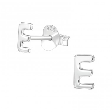 - 925 Sterling Silver Plain Ear Studs A4S39320