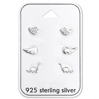 Animals - 925 Sterling Silver Jewellery Sets A4S28486