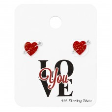 Heart - 925 Sterling Silver Jewellery Sets A4S34209